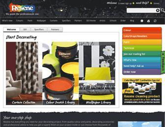 resene.co.nz screenshot