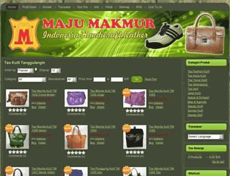 majumakmur.asia screenshot
