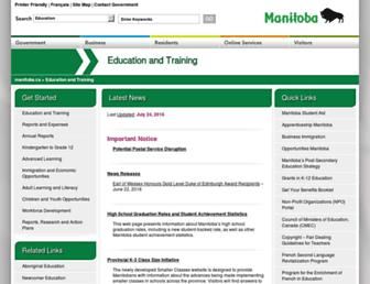 edu.gov.mb.ca screenshot
