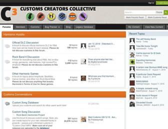 customscreators.com screenshot