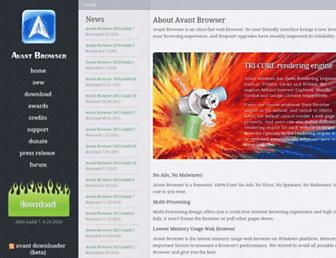 Thumbshot of Avantbrowser.com