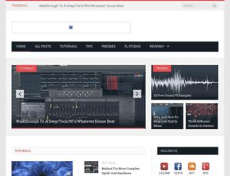 howtomakeelectronicmusic.com screenshot