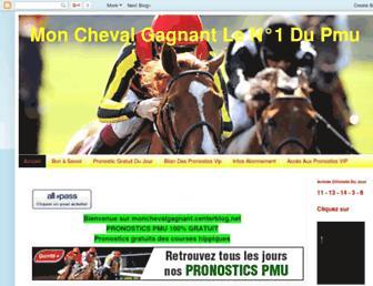 monchevalgagnant.blogspot.com screenshot