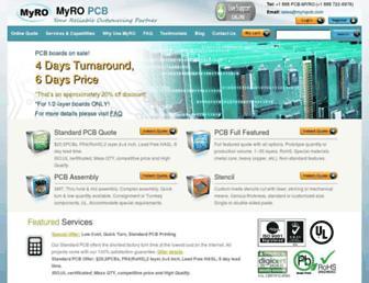 Thumbshot of Myropcb.com