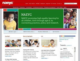 Thumbshot of Naeyc.org