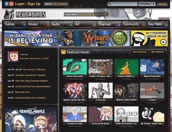 Thumbshot of Newgrounds.com