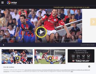 laliga.es screenshot