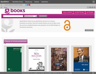 books.openedition.org screenshot