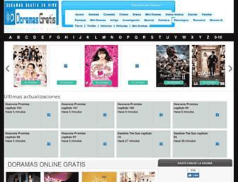 Thumbshot of Doramasgratis.com
