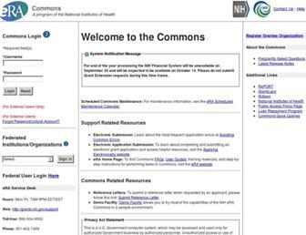 public.era.nih.gov screenshot