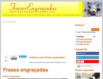 Thumbshot of Frasesengracadas.com.br