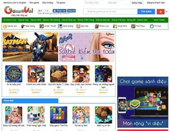 gamevui.vn screenshot
