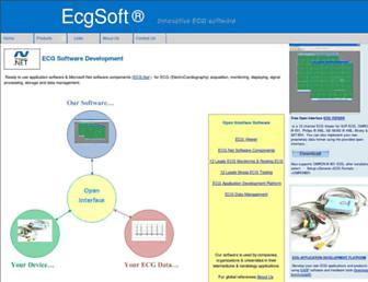 ecg-soft.com screenshot