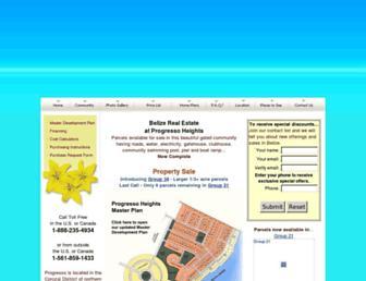 progressoheights.com screenshot