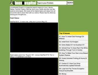 Thumbshot of Linuxhospital.com