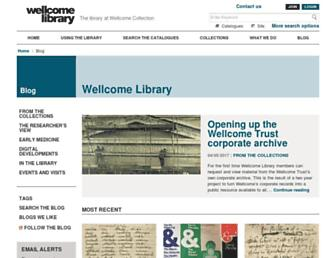 blog.wellcomelibrary.org screenshot