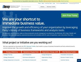 flevy.com screenshot