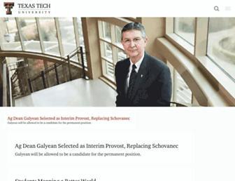 Thumbshot of Ttu.edu