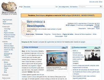 desciclopedia.org screenshot
