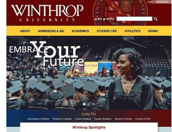 Thumbshot of Winthrop.edu