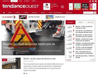 tendanceouest.com screenshot