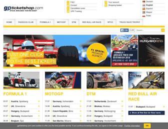 Thumbshot of Gpticketshop.com