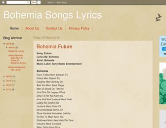 lyrics555.blogspot.com screenshot