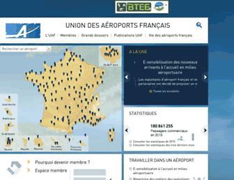 Thumbshot of Aeroport.fr