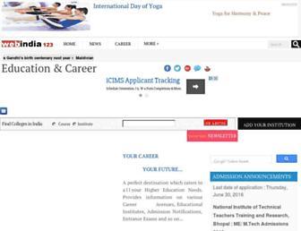 career.webindia123.com screenshot