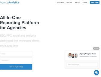 agencyanalytics.com screenshot