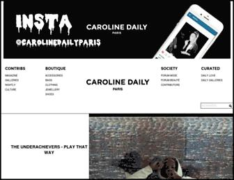 Thumbshot of Carolinedaily.com