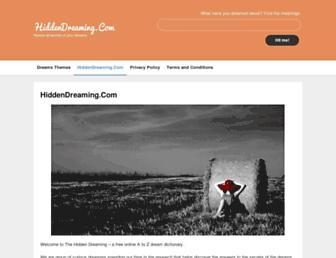 hiddendreaming.com screenshot