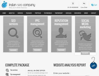 indian-seo-company.com screenshot