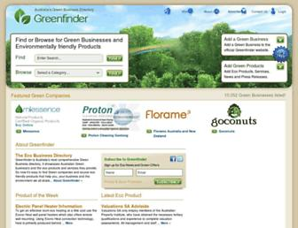 Thumbshot of Greenfinder.com.au