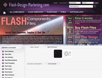 flash-design-marketing.com screenshot