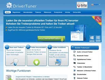 de.drivertuner.com screenshot