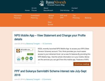 basunivesh.com screenshot