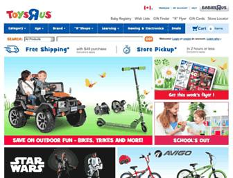 Thumbshot of Toysrus.ca