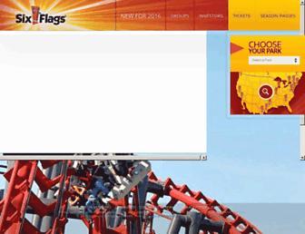 Thumbshot of Sixflags.com