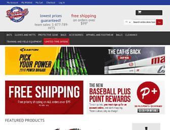 Thumbshot of Baseballplusstore.com