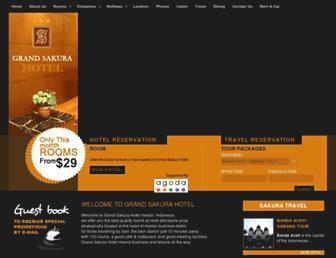 grandsakurahotel.com screenshot