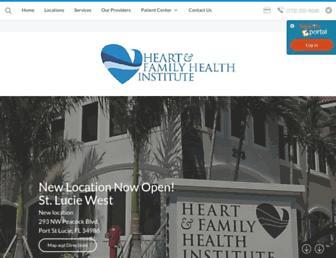 heartandfamilyhealthinstitute.com screenshot