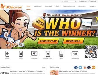 wap.uc.cn screenshot