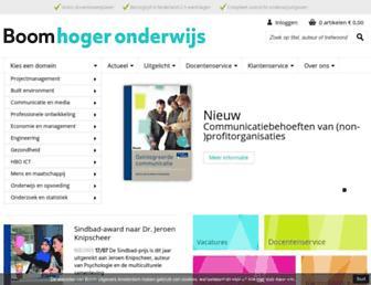 boomhogeronderwijs.nl screenshot