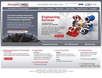 conceptsnrec.com screenshot