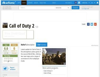 call-of-duty-2-patch.en.softonic.com screenshot