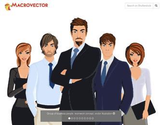 macrovector.com screenshot