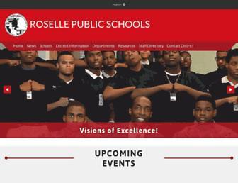roselleschools.org screenshot