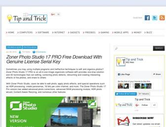 tipandtrick.net screenshot