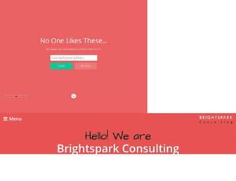 brightspark-consulting.com screenshot